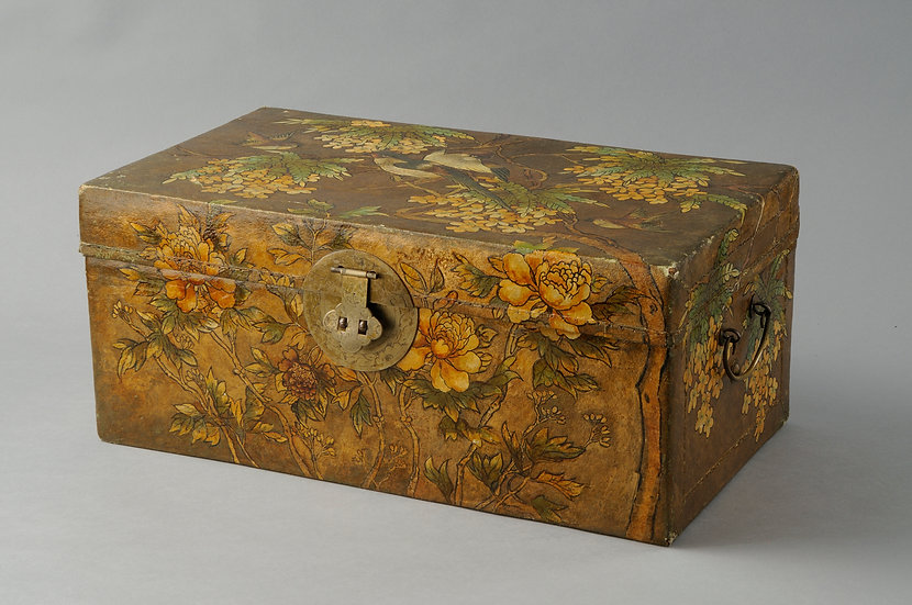 Japanese leather wedding box