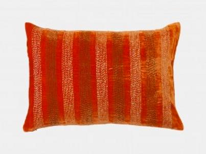 "Cushion ""Amelie"" Blood Orange 50x35cm"