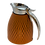 Thumbnail: Carafe thermal in leather Handmade, Biscuit