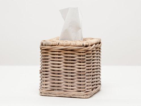 Tissue Box Square Wicker