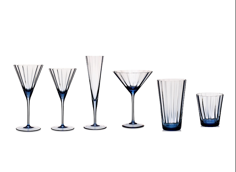 Sapphire Glassware (Set of 48 pieces for 8 persons)