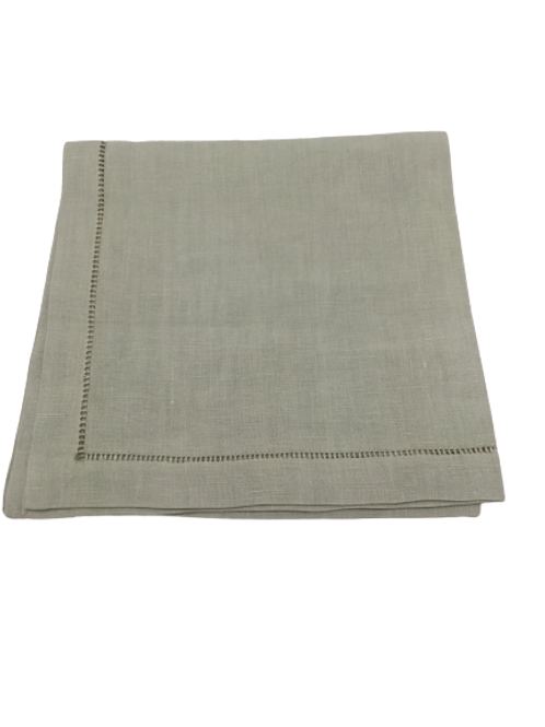 Napkin in linen celadon-green (set of 4)
