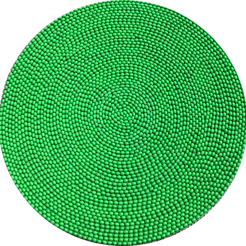 Placemat Jelly Bead Green (set of 12 persons)