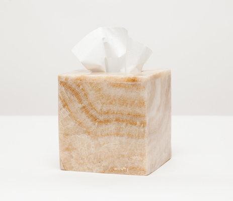Tissue Box Natural Onyx