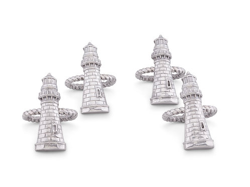Napkin Rings Lighthouse (set of 8 pieces)