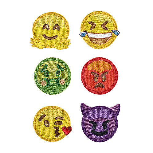 Coaster Emoji Set 6
