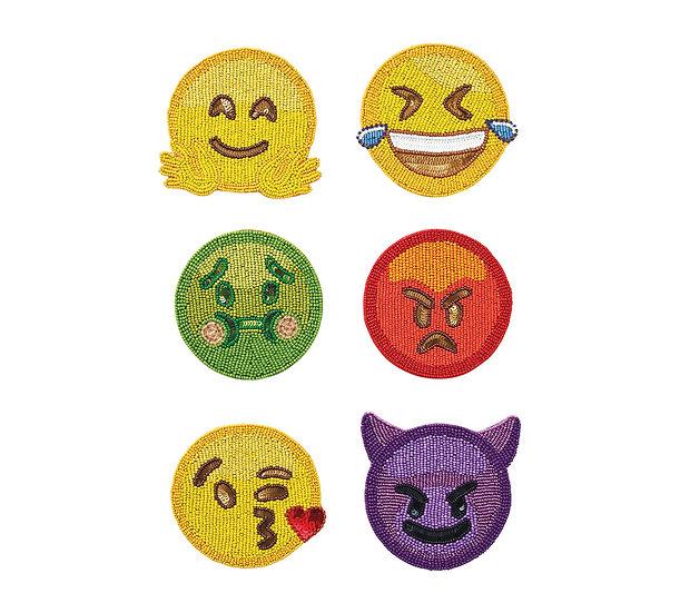 Coaster Emoji Set 6