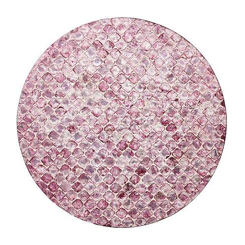 Placemat in plum (8pcs)