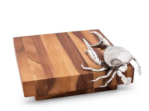Cheese Tray Hardwood Crab