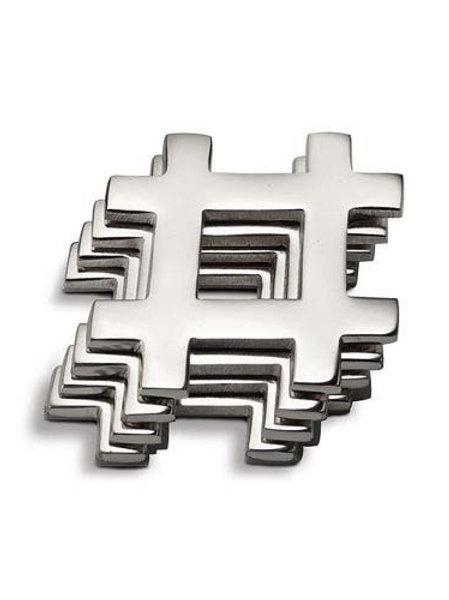Hashtag Coaster (Set of 4 pieces)