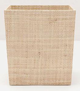 Wastebasket Natural Rectangular 27cm