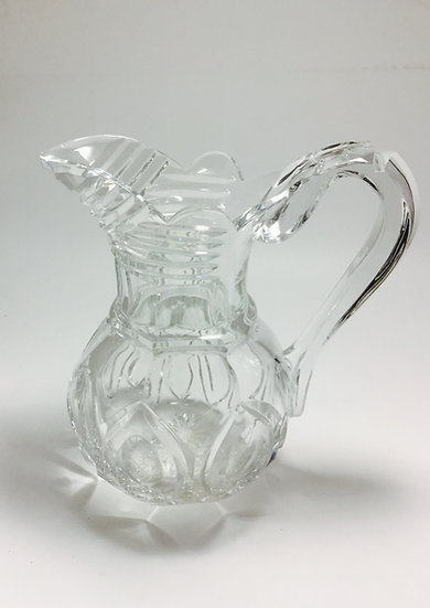 Cut Crystal  Water Pitcher