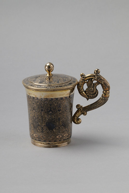 Cup Moscow, Sterling Silver, C1838