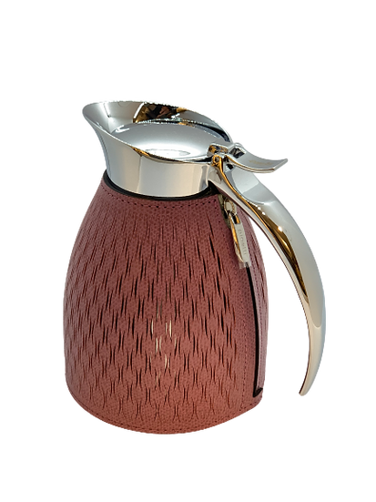 Carafe thermal in leather Handmade, Wine
