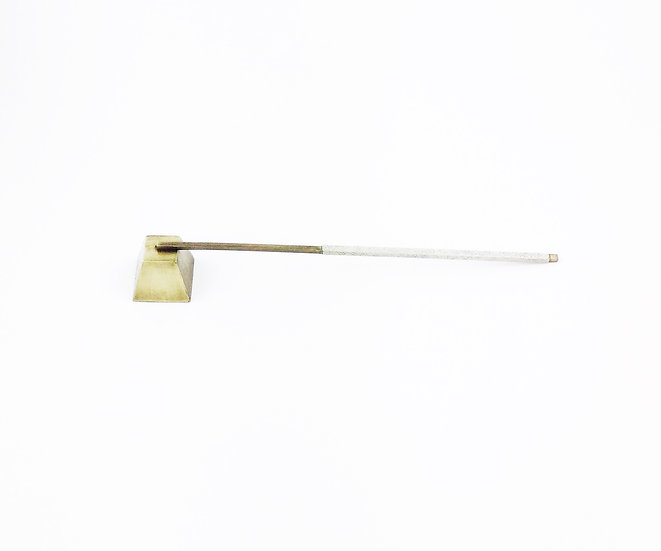 Candle Snuffer Antique Natural Shagreen