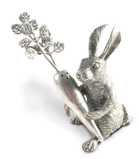 Salt and Pepper Rabbit with Carrot