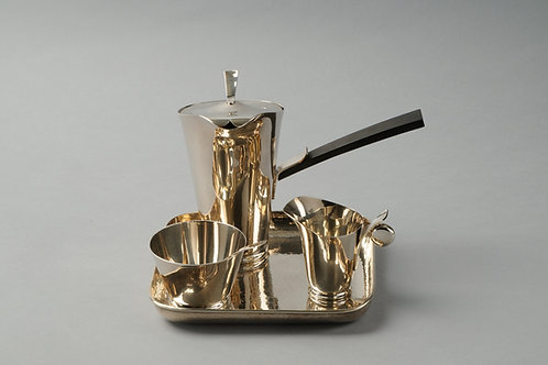 Art Deco Tea set, Sterling Silver