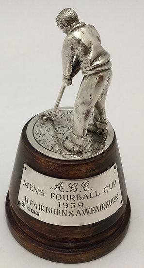 Silver Golf Trophy, c1950