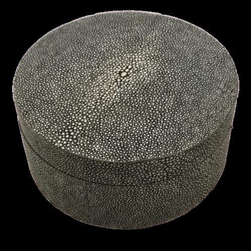 Round Grey Box