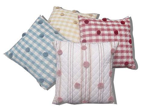 Cushion Pom-Pom 20x20cm