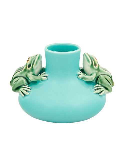 Vase with Two Frogs