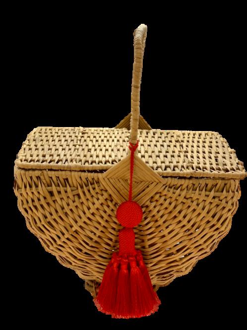 """Bag """"pique-nique"""" bamboo naturel"""