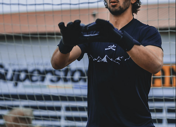 Black Summit Short-sleeve Goalkeeper Kit
