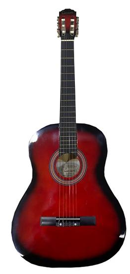 Guitare Classique d'étude - Rouge 4/4