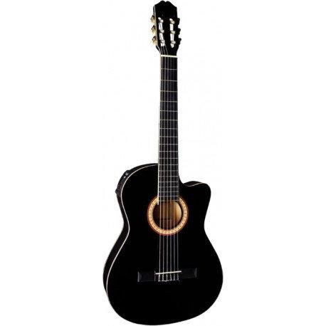 Guitare électro-Classique MEG -Noir
