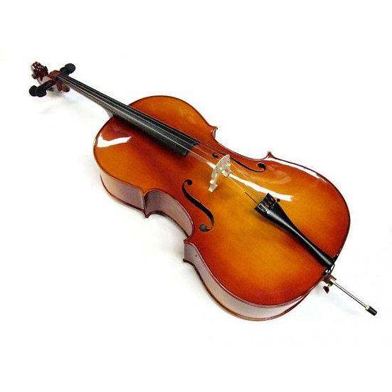 Meg Cello Violoncelle 3/4 Acoustique + Archet + Housse