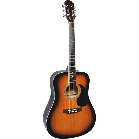 Guitare Acoustique Folk Sunburst 4/4