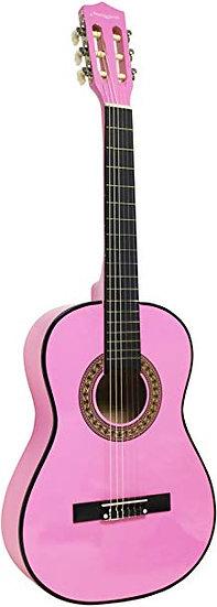 Guitare Classique d'étude -Rose  3/4