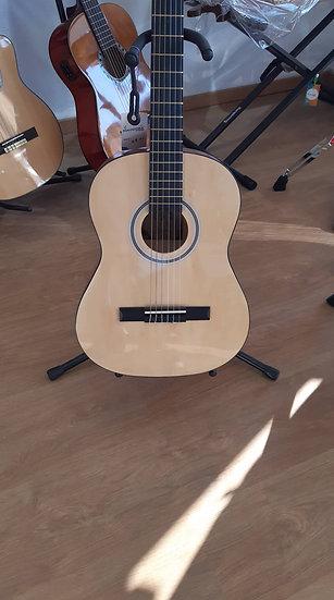 Guitare Classique d'étude 3/4 - Skylark Naturel + housse