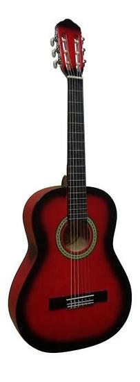 Guitare Classique d'étude - Rouge 2/4