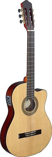 Guitare électro-Classique MEG naturelle