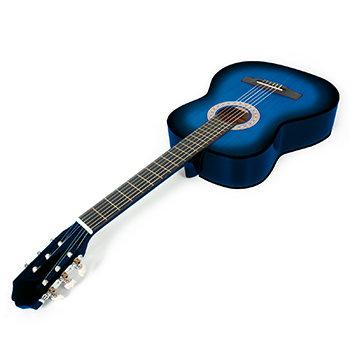 Guitare Classique d'étude -Bleu 3/4