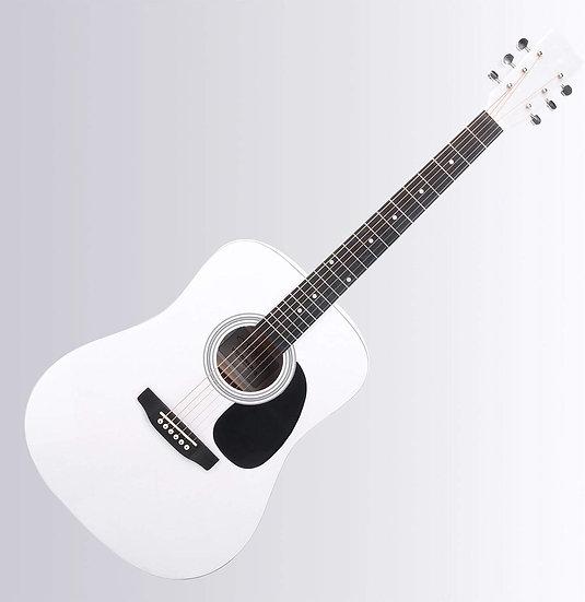 "Guitare Folk Blanche 41""  MEG"