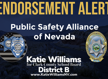 Endorsement Alert: Public Safety Alliance of Nevada