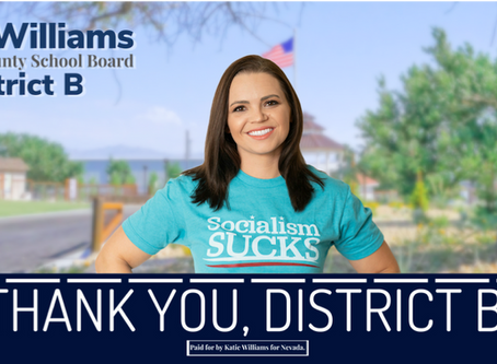 Statement of Katie Williams on the District B Primary Election