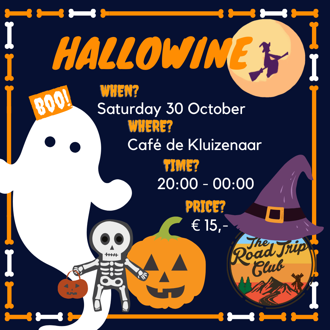   30 October 2021   Hallowine Time