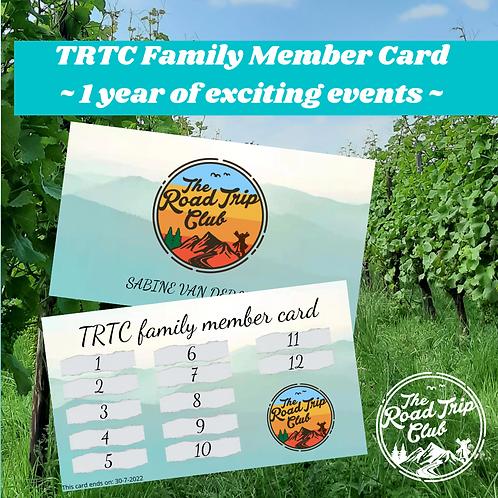 TRTC Family Member Card