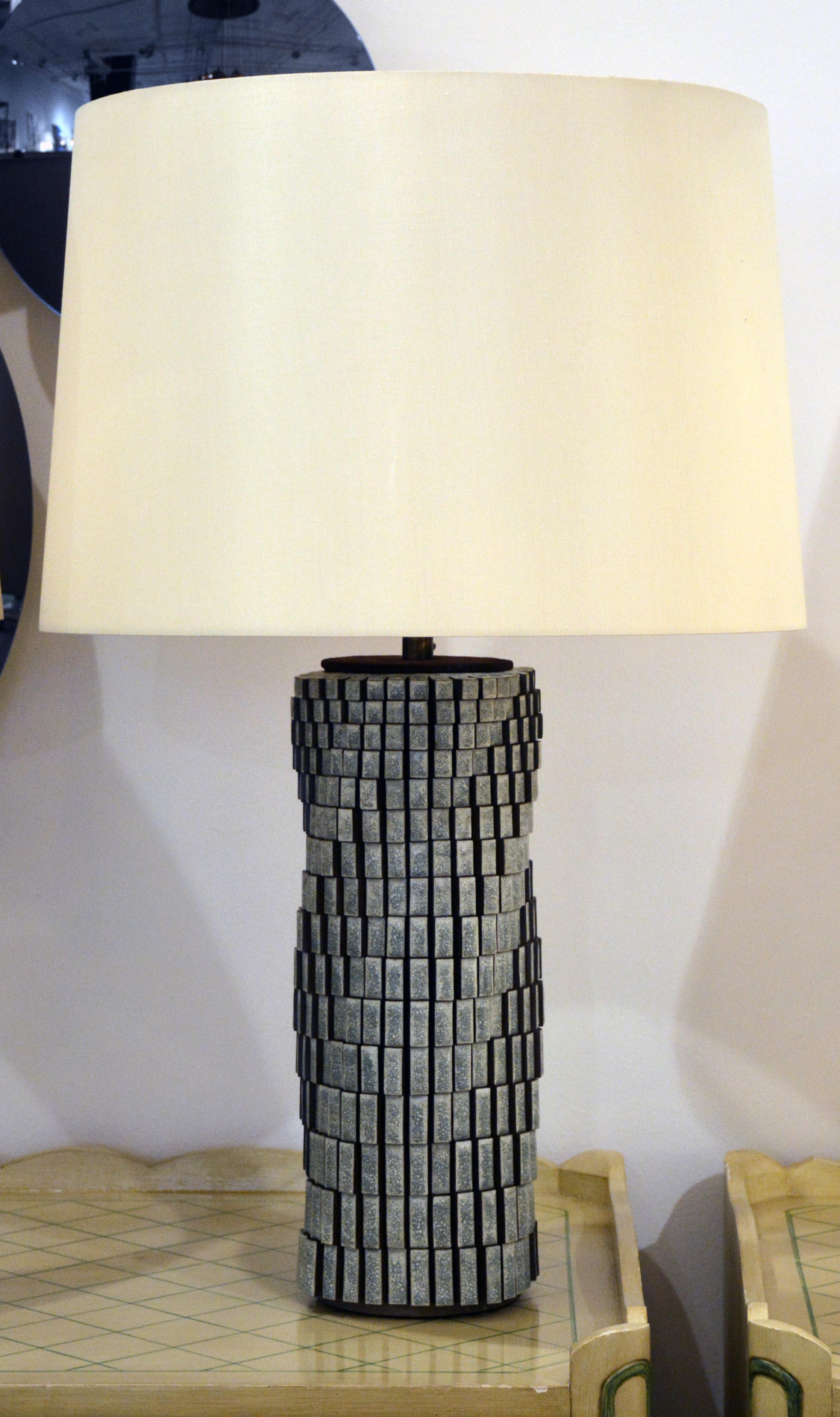 "15"" Spiral Block Lamp (5814)"