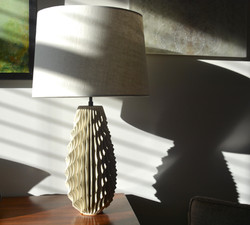 """17"""" Pointed Spiral Lamp (1894)"""