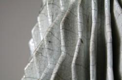 Raku Spiral Detail (3086)