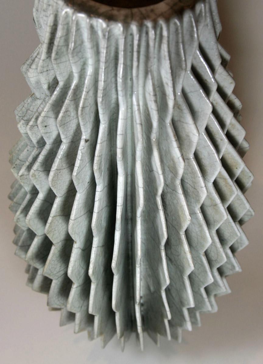 Raku Spiral Detail (3082)