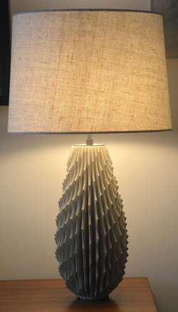 """17"""" Pointed Spiral Lamps (1888)"""