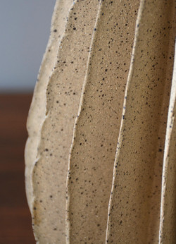 Unglazed Cone Detail (0056)
