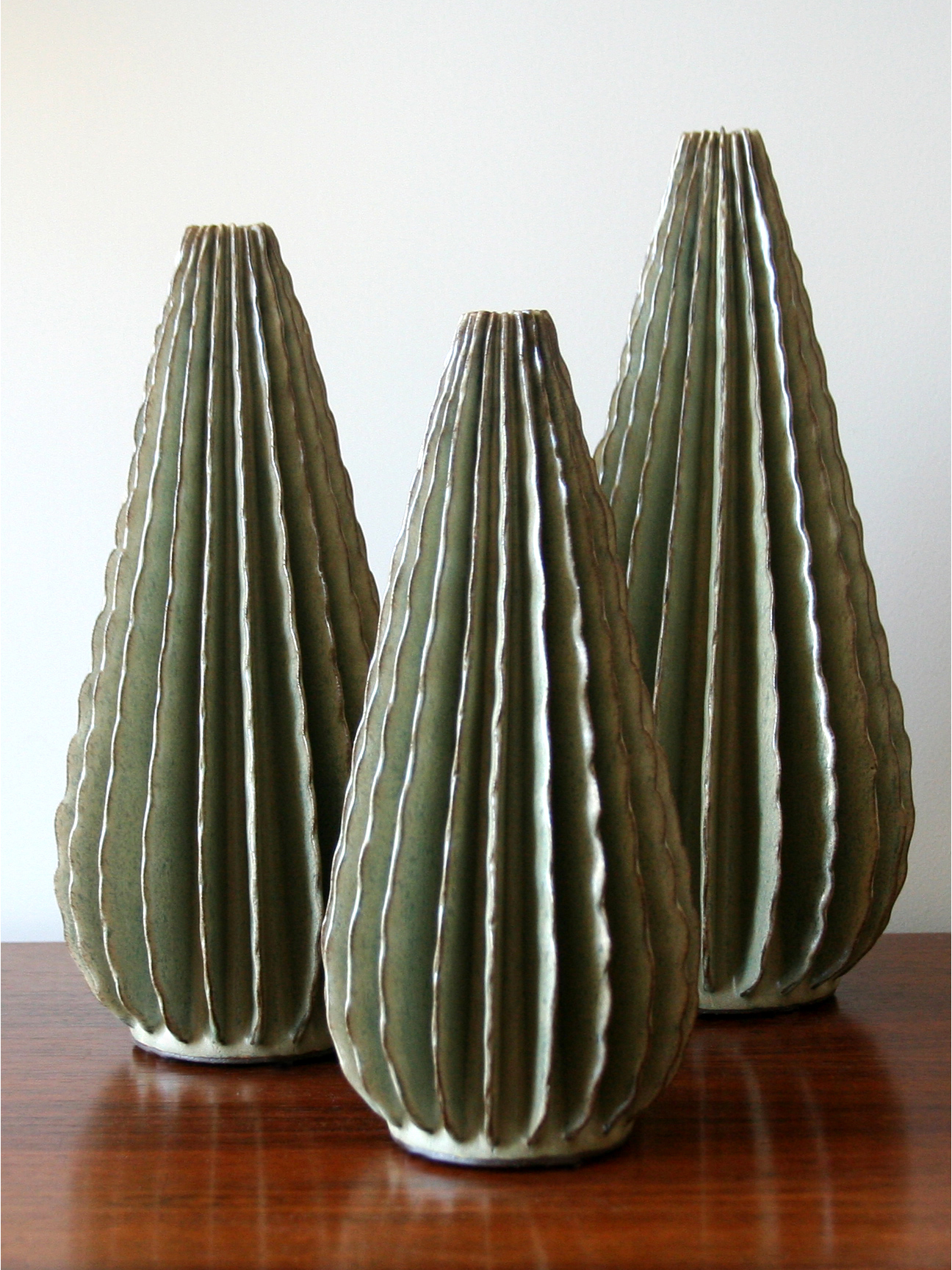 3 Desert Green Cones (4206)