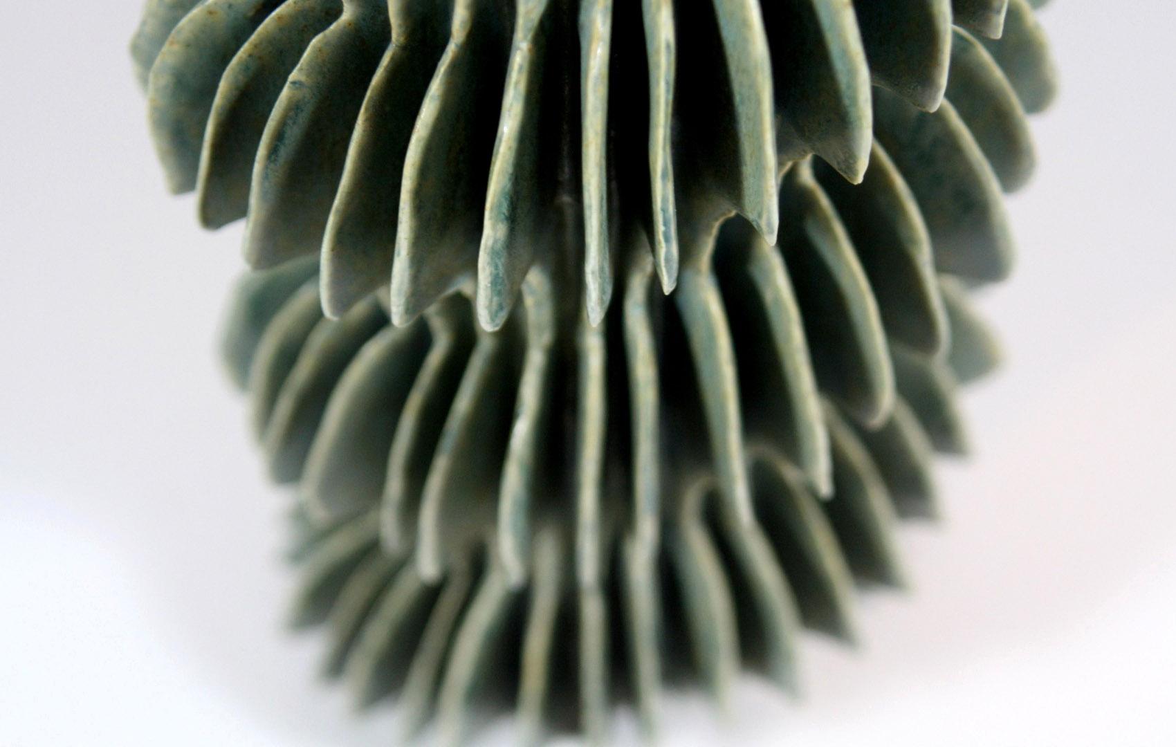 Green Spiral Detail (3040)