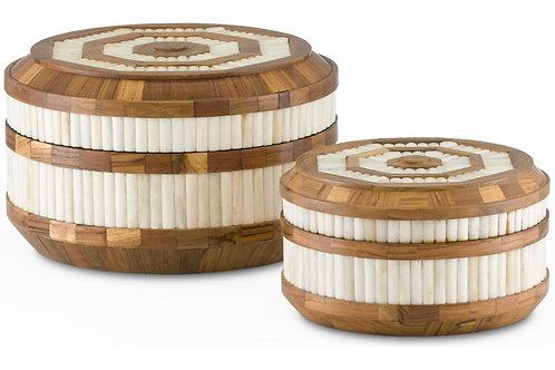 Banjhara Round Box Set of 2